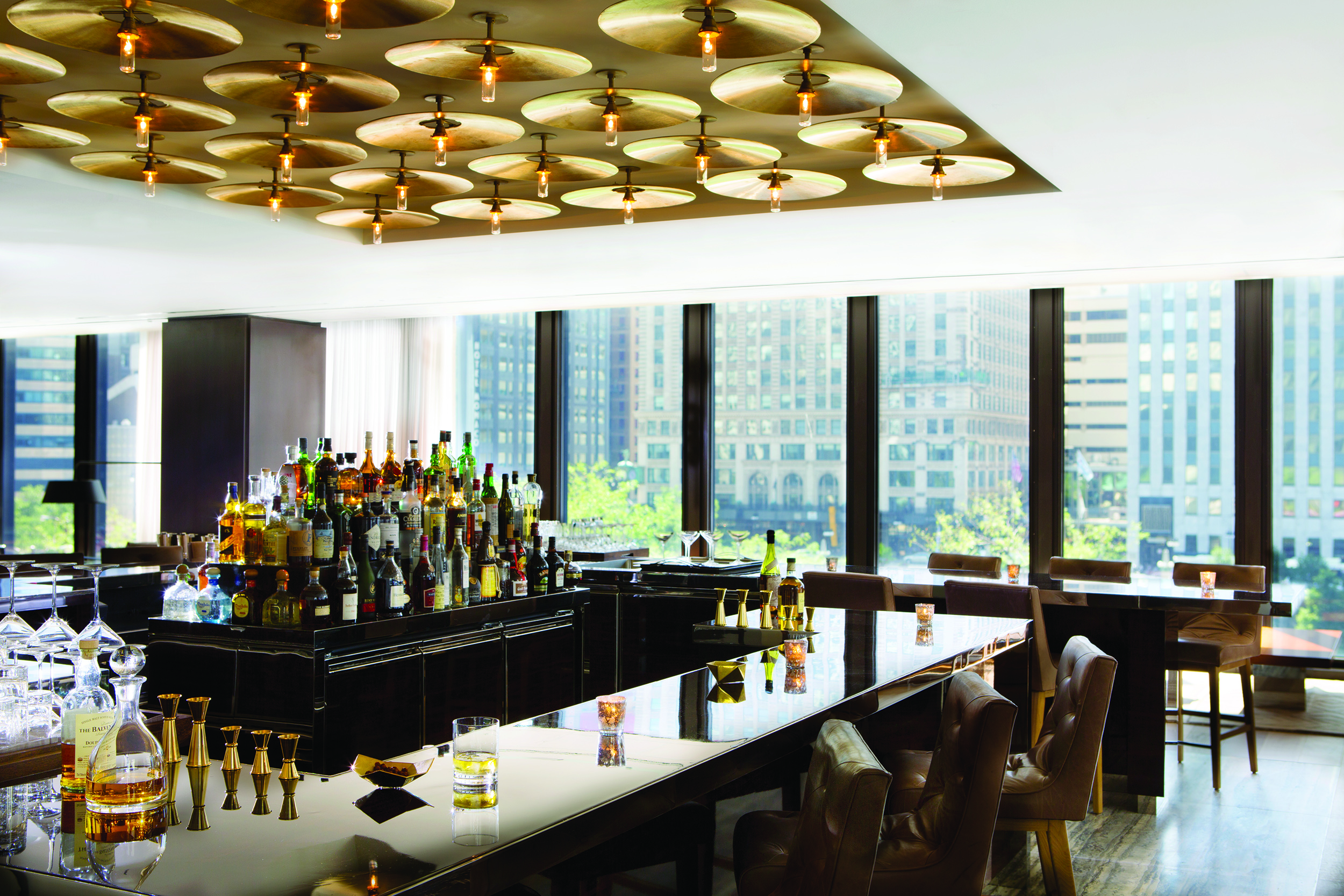 The Travelle Bar at The Langham Chicago